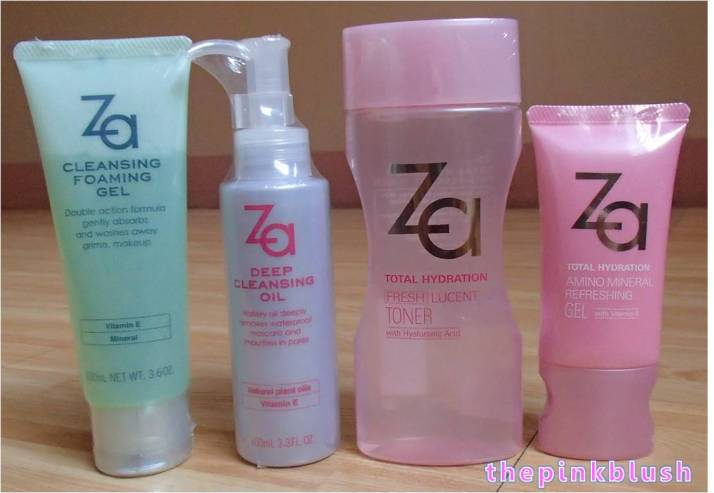za-cosmetics skincare purchase