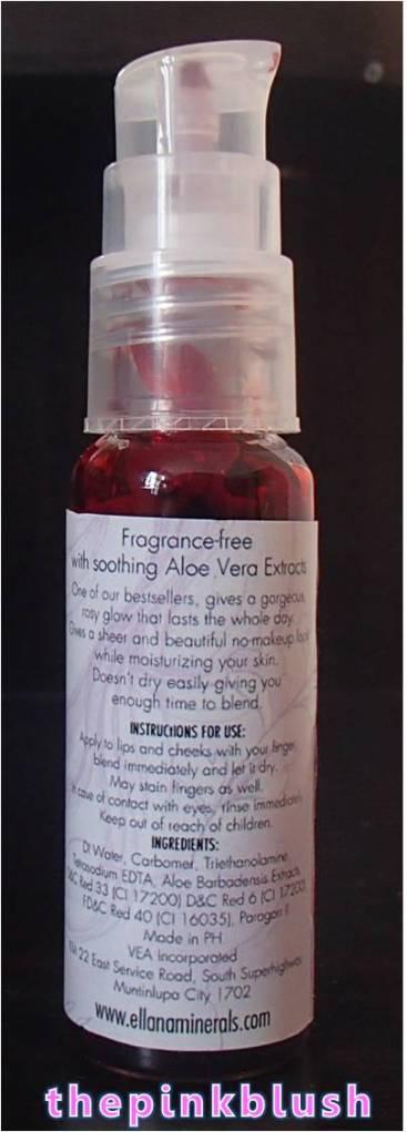 ellana mineral cosmetics lip & cheek gel2