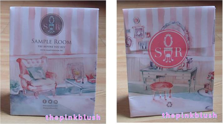 sample room's new paper bag