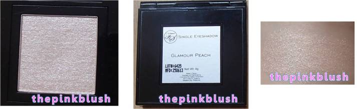fs cosmetics single eyeshadow glamour peach