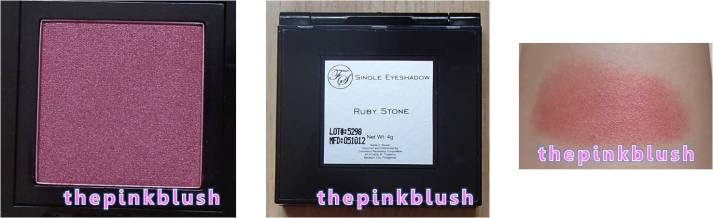 fs cosmetics single eyeshadow ruby stone
