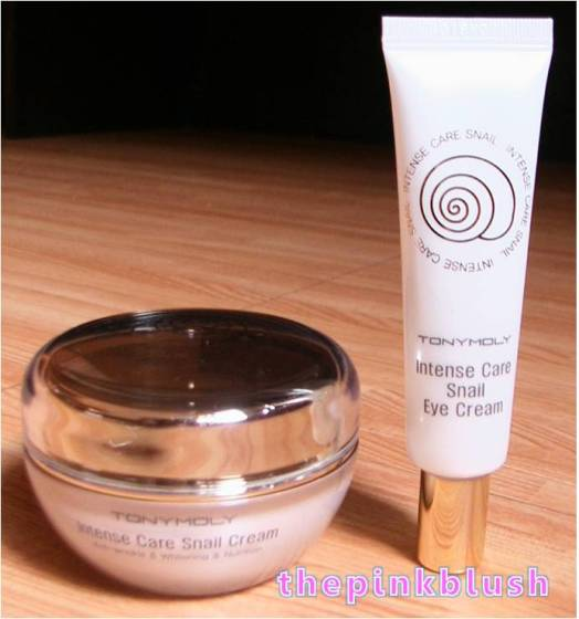 tony moly intense care snail cream special set4